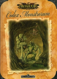 Cover »Codex Monstrorum«