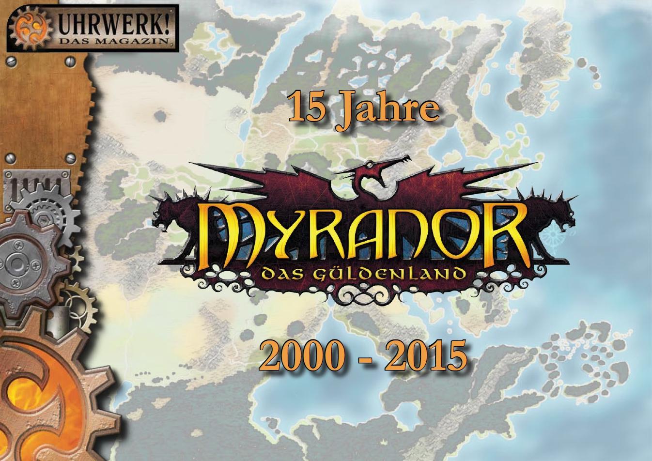 Cover Uhrwerk! 15 Jahre Myranor