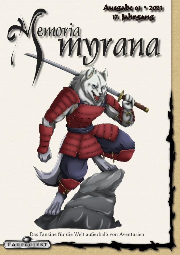 Cover Memoria Myrana 61
