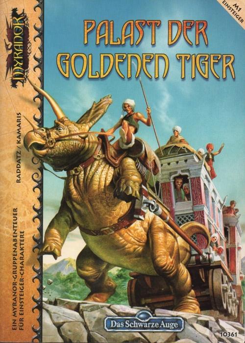 Cover von »M1 Palast der goldenen Tiger«