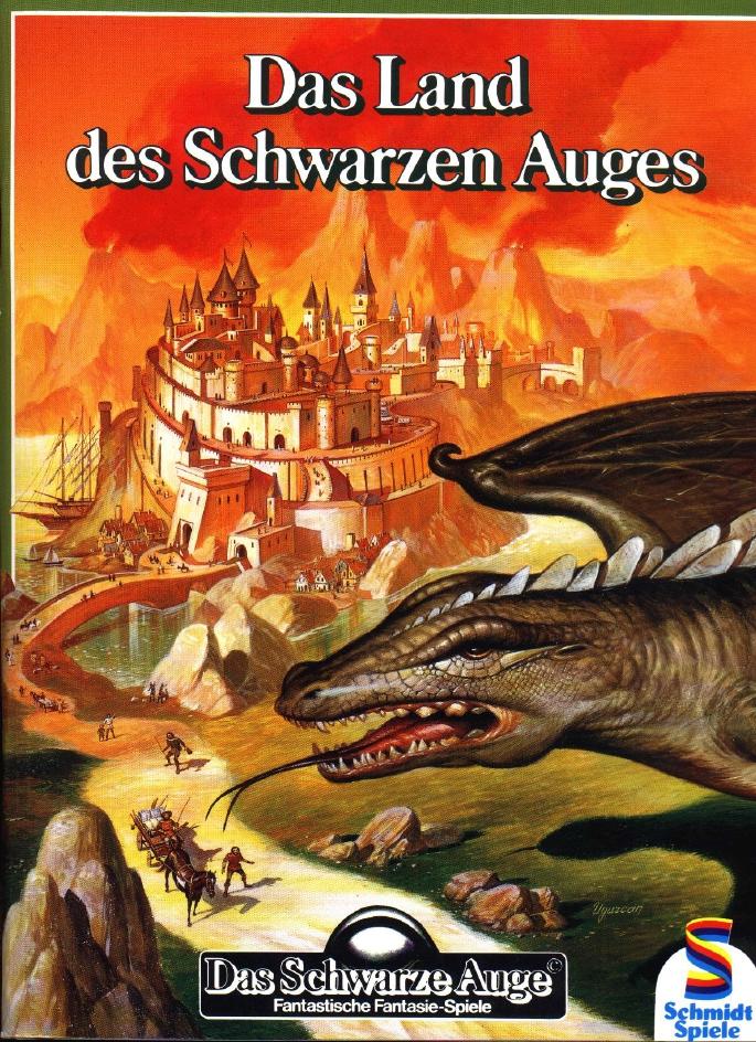 Cover »Das Land des Schwarzen Auges«