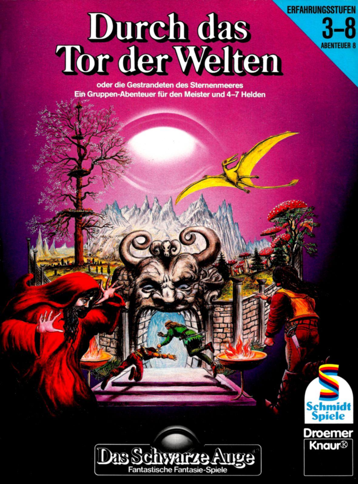 Cover von »Durch das Tor der Welten«