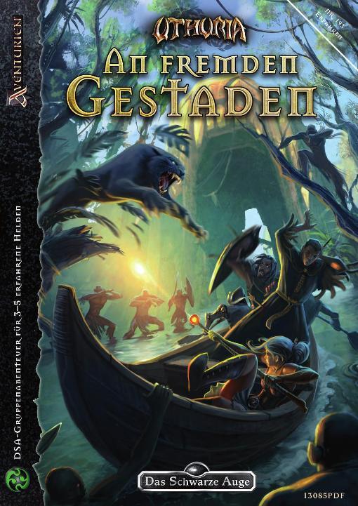 Cover »An fremden Gestaden«