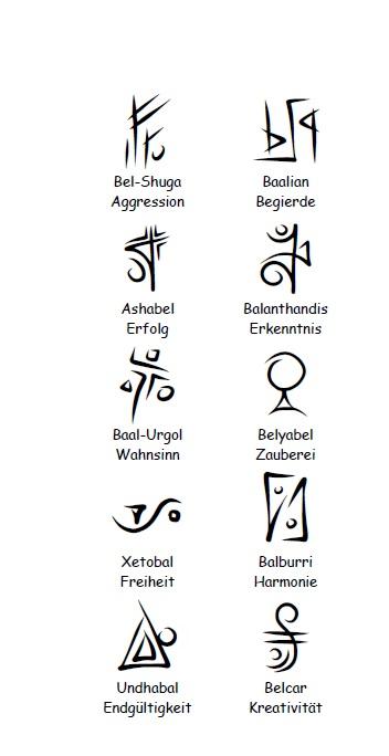 Symbole Stellare